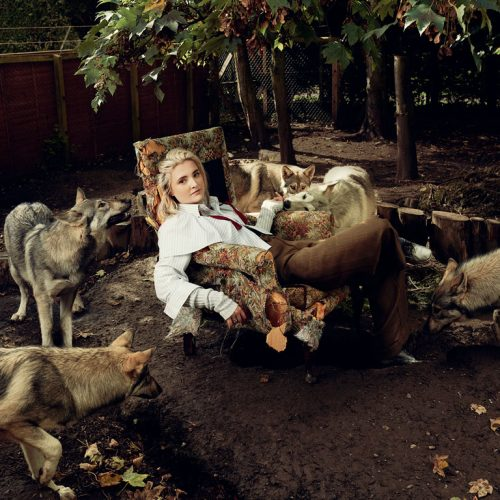 A Girl With The Wolves